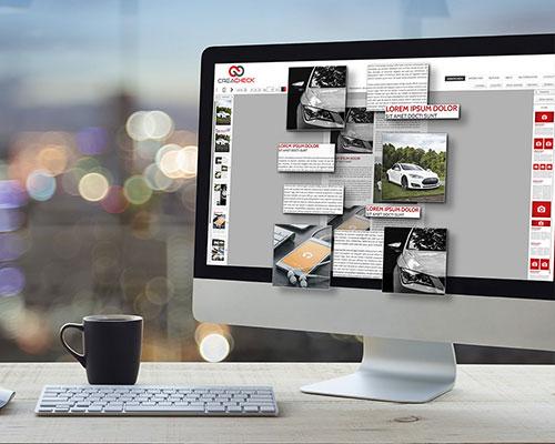 Überzeugendes digitales Gestaltungssystem