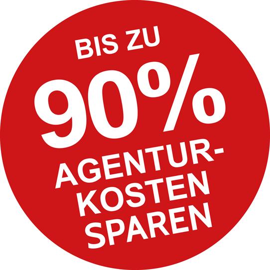 Bis zu 90% Agenturkosten sparen - mit CreaCheck